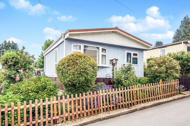 Thumbnail Mobile/park home for sale in Rustywell Park, Yeovil