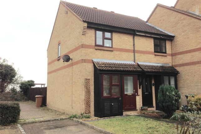 Thumbnail End terrace house to rent in De Havilland Way, Abbots Langley