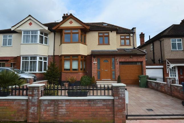 Thumbnail Semi-detached house for sale in College Hill Road, Harrow Weald, Harrow