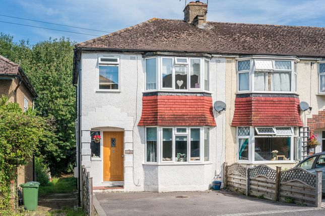 Thumbnail End terrace house for sale in Prince Albert Square, Redhill
