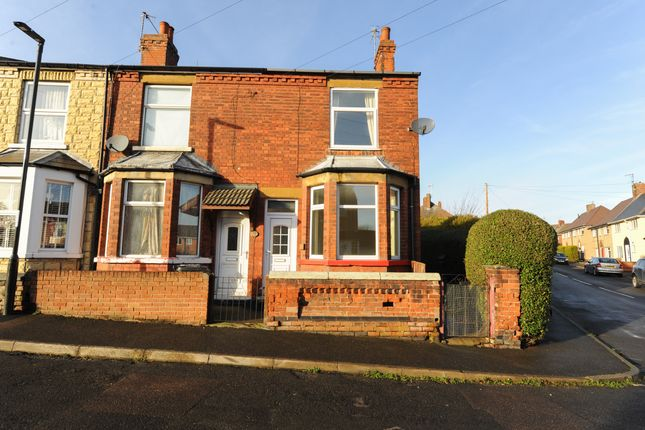 Thumbnail End terrace house for sale in Staveley Road, New Whittington, Chesterfield