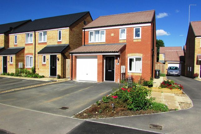 Thumbnail Detached house for sale in Centenary Way, Raunds, Wellingborough