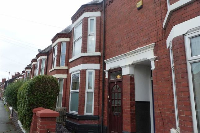 Thumbnail Terraced house to rent in Ernest Street, Crewe