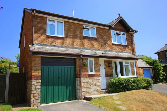 Thumbnail Detached house for sale in Chapman Court, Latchbrook, Saltash