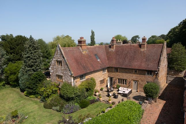 Thumbnail Detached house for sale in Manor Road, Staverton, Daventry, Northamptonshire