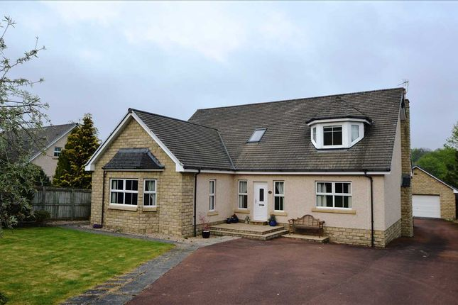 Thumbnail Detached house for sale in Lanark Road, Garrion Bridge, Clyde Valley