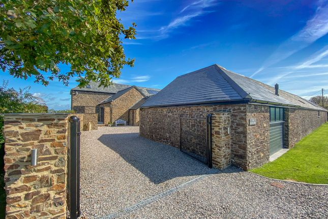 Thumbnail Barn conversion for sale in The Glebe, Week St. Mary, Holsworthy