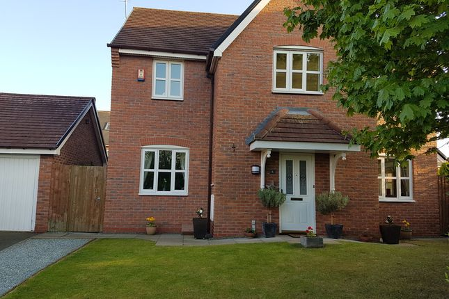 Thumbnail Detached house for sale in Delamere Close, Weston, Crewe
