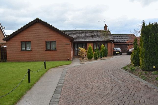 Thumbnail Detached bungalow for sale in Town Hill Drive, Broughton, Brigg