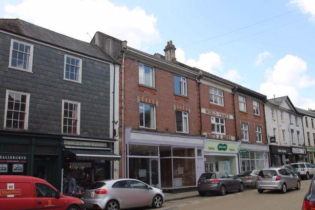 Thumbnail Flat to rent in West Street, Tavistock, Devon