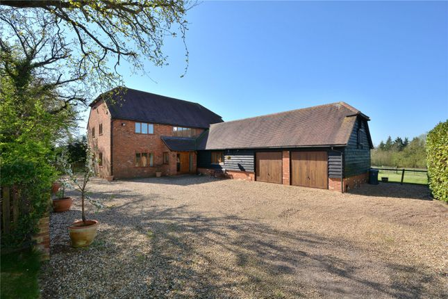 Thumbnail Detached house for sale in Carters Hill, Arborfield, Reading, Berkshire