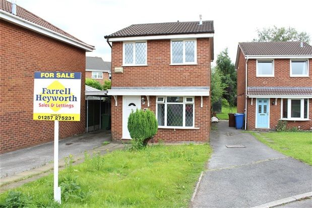 Thumbnail Property for sale in Hurstbrook, Chorley