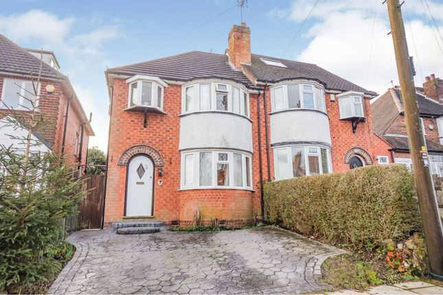 Thumbnail Semi-detached house for sale in Harts Green Road, Birmingham