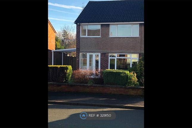 Thumbnail Semi-detached house to rent in Tiverton Avenue, Stafford