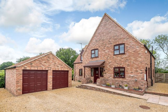 Thumbnail Detached house for sale in Chequers Lane, North Runcton, King's Lynn
