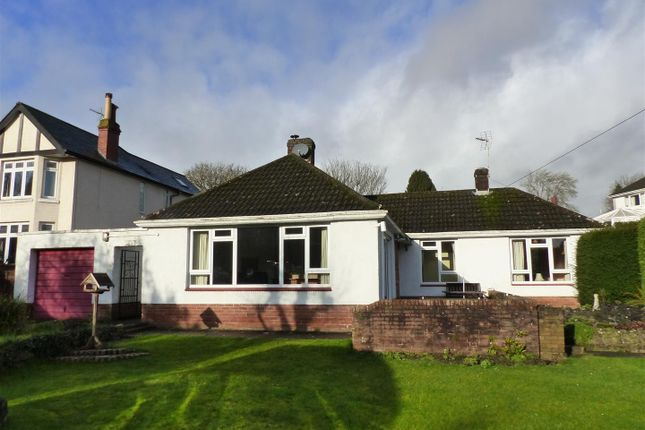 Thumbnail Detached bungalow for sale in Hardwick Hill Lane, Chepstow