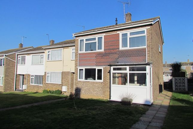 Thumbnail End terrace house to rent in Arderne Close, Dovercourt, Harwich