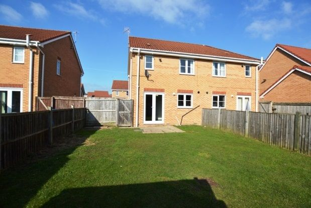 Thumbnail Semi-detached house to rent in Langford Croft, Chesterfield