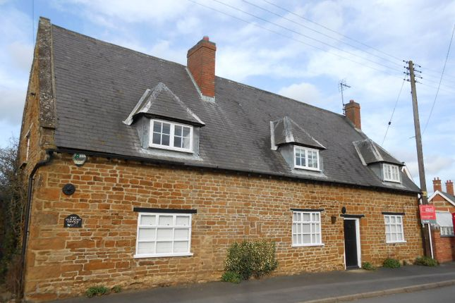 Thumbnail Detached house to rent in Main Street, Slawston, Market Harborough, Leicestershire
