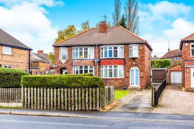 Thumbnail Semi-detached house for sale in Rotherham Road, Maltby, Rotherham