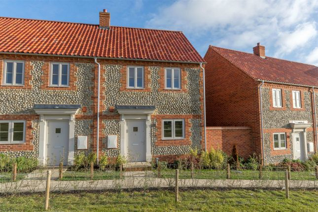 Thumbnail Semi-detached house for sale in Sandells Walk, Burnham Market, King's Lynn