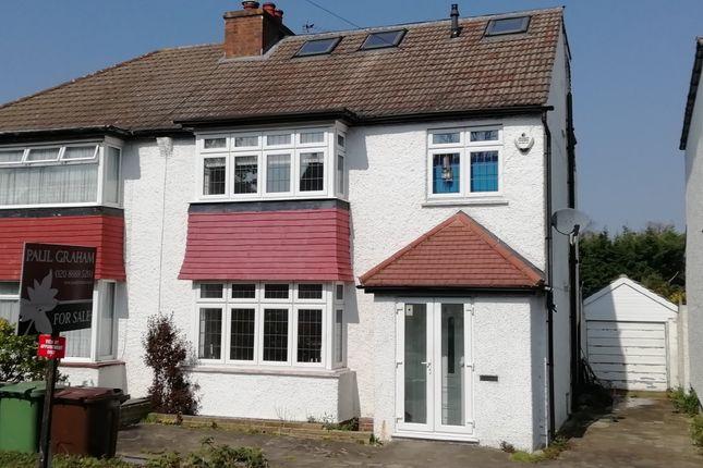 Thumbnail Semi-detached house for sale in Link Lane, Wallington