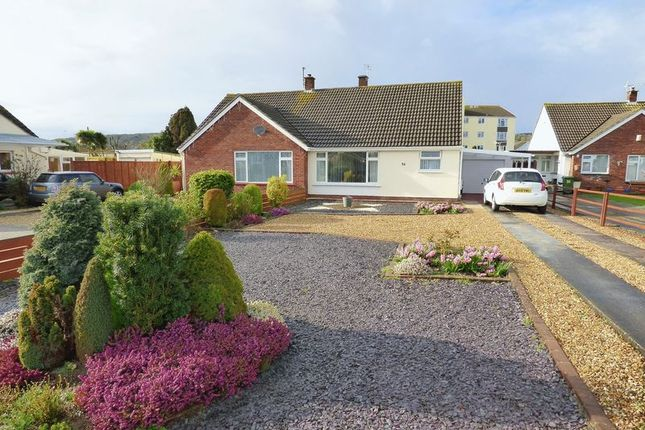 Thumbnail Semi-detached bungalow for sale in Garsdale Road, Milton, Weston-Super-Mare