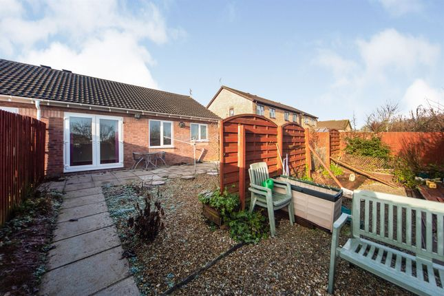Thumbnail Semi-detached bungalow for sale in Heol Yr Onnen, Llanharry, Pontyclun