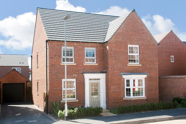 "Thumbnail Detached house for sale in ""Holden"" at Forest House Lane, Leicester Forest East, Leicester"