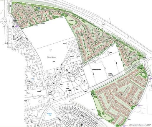 Land for sale in New Sporle Road, Swaffham