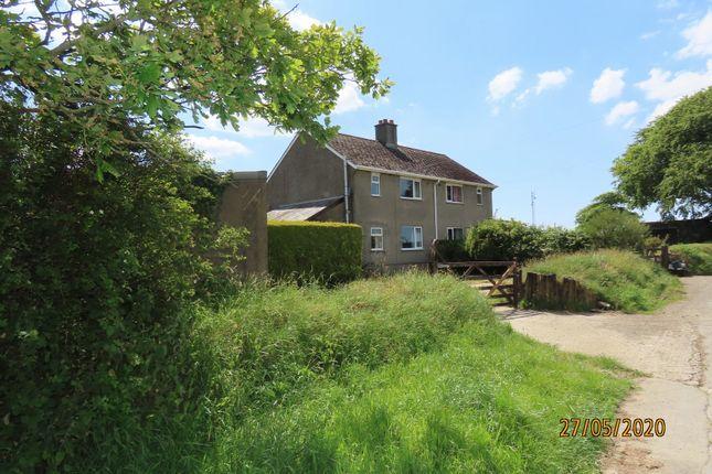 Thumbnail Semi-detached house to rent in Kings Nympton, Umberleigh