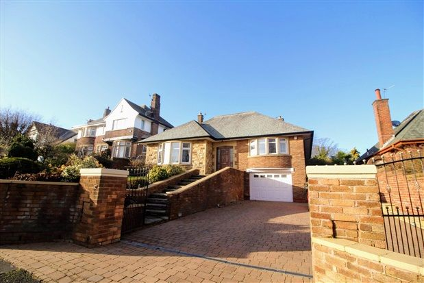 Thumbnail Bungalow for sale in North Park Drive, Blackpool