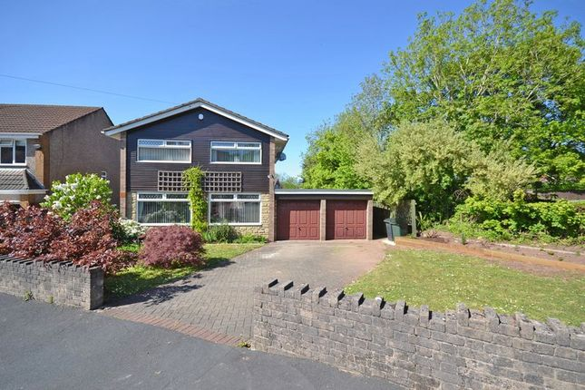 Thumbnail Detached house for sale in Detached Family House, Oaklands Park Drive, Rhiwderin