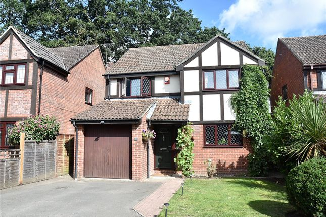 Thumbnail Detached house for sale in Oakmead, Bramley, Tadley, Hampshire