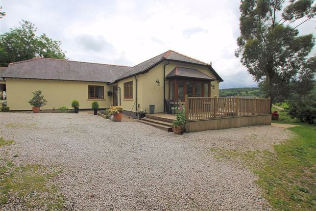 Thumbnail Detached bungalow for sale in Llanfair Dyffryn Clwyd, Ruthin, Denbighshire