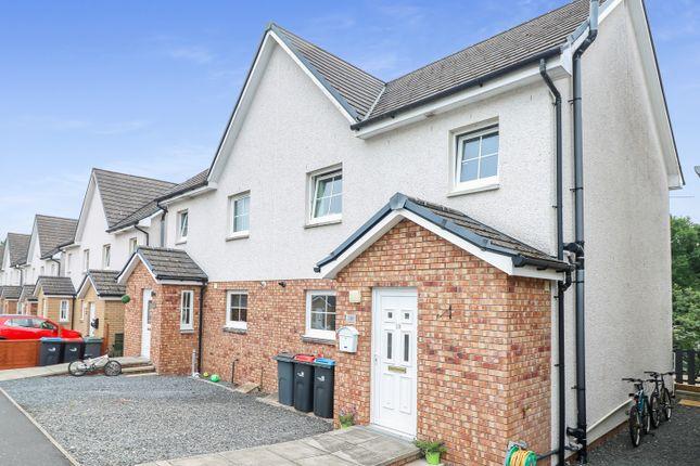 Thumbnail Semi-detached house for sale in Creemills Walk, Newton Stewart