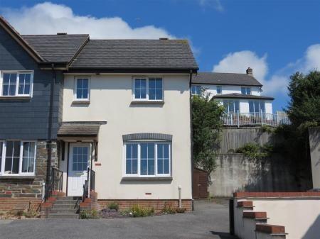 Thumbnail End Terrace House For In Pentillie Gardens St Austell