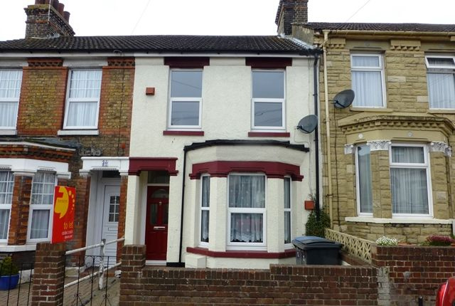 Thumbnail Terraced house to rent in Eaton Road, Dover