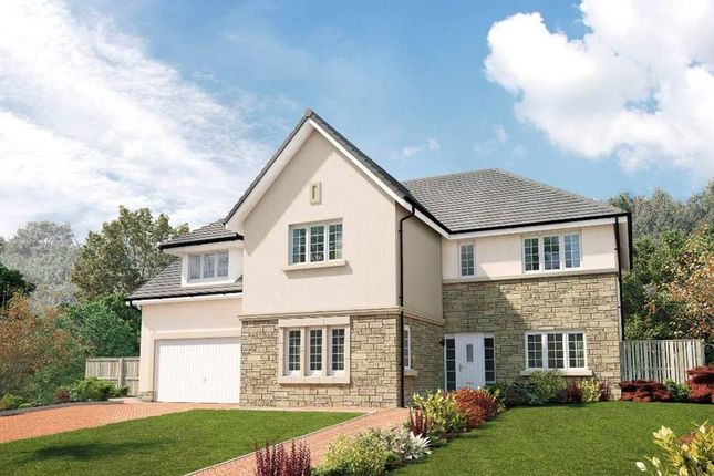 "Thumbnail Detached house for sale in ""The Ramsay"" at Milngavie Road, Bearsden, Glasgow"