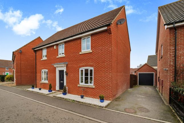 Thumbnail Detached house for sale in Tummel Way, Attleborough