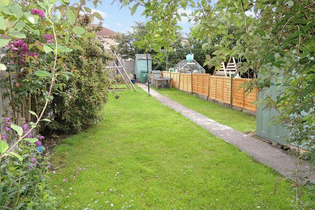 Rear Garden of Sheldare Barton, St George, Bristol BS5