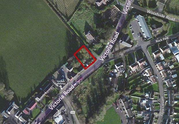 Thumbnail Land for sale in Victoria Road, Newbuildings, Londonderry, County Londonderry
