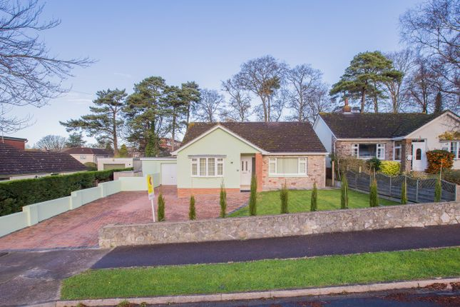 Thumbnail Detached bungalow for sale in The Copse, Twickenham Road, Newton Abbot