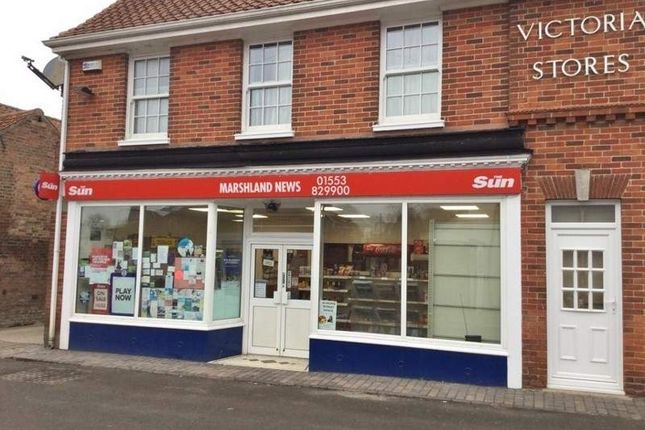 Thumbnail Retail premises for sale in T/A Marshland News, King`S Lynn