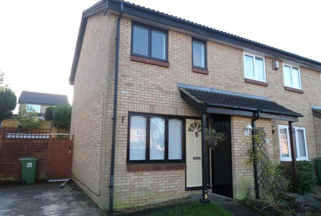 Thumbnail End terrace house to rent in Pannier Place, Downs Barn, Milton Keynes