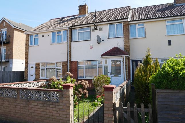 Thumbnail Terraced house to rent in Triumph Close, Hayes