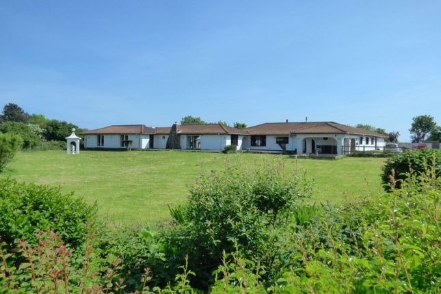 Thumbnail Bungalow for sale in New Dover Road, Capel-Le-Ferne, Folkestone