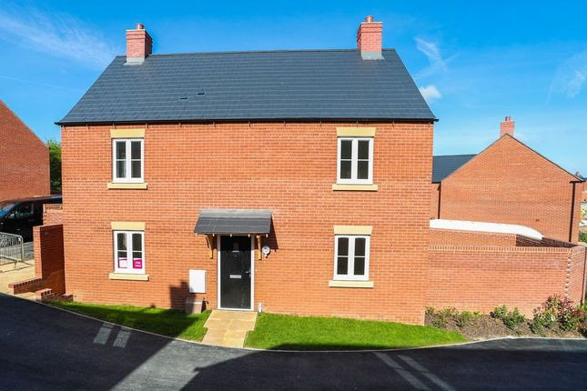 Thumbnail Detached house for sale in Stonecutters, Roade, Northampton