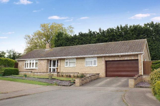 Thumbnail Detached bungalow for sale in Lancaster Close, Wollaston, Northamptonshire