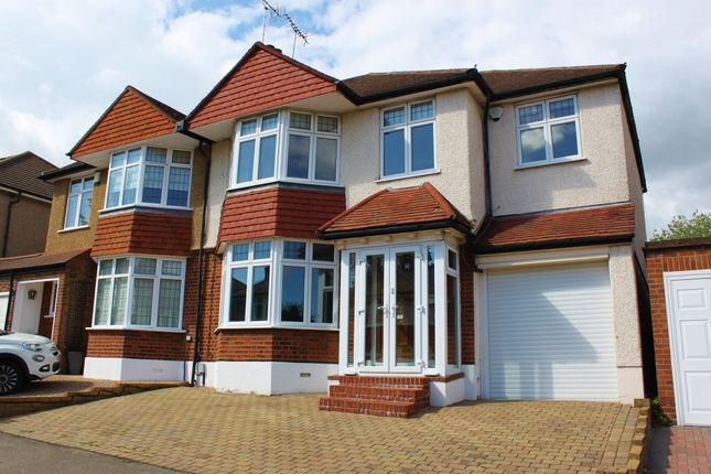 Thumbnail Semi-detached house to rent in Parkland Road, Woodford Green